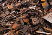 Scrap metal heap — Stock fotografie
