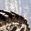 Stock Photo: Winter tire