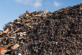 Scrap metal heap — Stock Photo