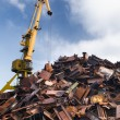 Scrap metal loading — Stock Photo #32050569
