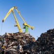 Scrap metal loading — Stock Photo #32052279