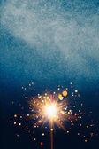 Абстрактный фон синий блестящий — Стоковое фото