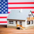 Usa real estate concept — Stock Photo