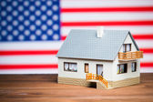 美国房地产概念 — 图库照片