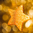 Abstract festive star background — Stock Photo