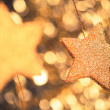 Stock Photo: Abstract festive stars background