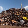 Stock Photo: Scrap metal heap
