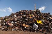 Scrap metal heap — Stock Photo