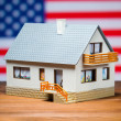 Usa house concept — Stock Photo #33148983