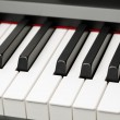 Grand piano ebony and ivory keys — Stock Photo #35801021