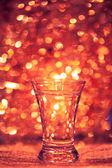 Shot glass of vodka — Stock Photo