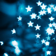 Abstract festive stars bokeh — Stock Photo #37004065
