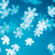 Abstract snowflakes bokeh — Stock Photo #37004105