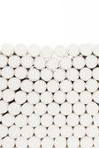 Abstractos blancos filtros de cigarrillos — Foto de Stock