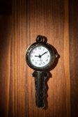 Clock key — Stock Photo
