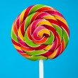 Colorful lollipop candy — Stock Photo