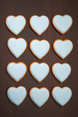 Cookies hearts — Stock Photo