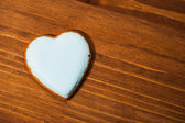 Cookie-herz — Stockfoto