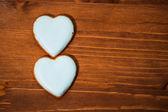 Cookies hearts — Zdjęcie stockowe