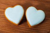 Corazones de galletas — Foto de Stock