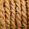 Stock Photo: Rope bundle texture