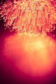 Fiber optics light background — Foto de Stock