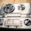 Reel to reel tape player and recorder — Stock Photo #48629425