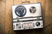 Reel to reel tape player and recorder — Stock Photo