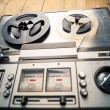 Reel to reel tape player and recorder — Stock Photo #50466005
