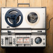 Reel to reel tape player and recorder — Stock Photo #50466051
