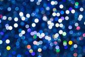Abstrakt blå bokeh bakgrund — Stockfoto