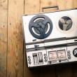 Reel to reel tape player and recorder — Stock Photo #50770705