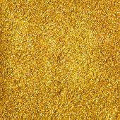 Golden glitter makeup powder texture — Stock Photo