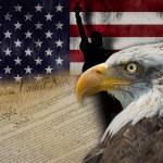 Land of liberty — Stock Photo