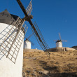 Traditional windmills in Spain — Stock Photo