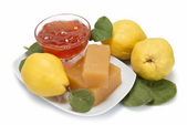 Quince cheese and jelly — Stock Photo