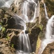 Landscape with waterfalls - Stock Photo