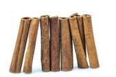 Cinnamon sticks isolated on a white background — Stock Photo