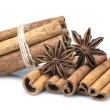 Cinnamon and star anise — Stock Photo #30753609