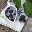 Постер, плакат: Homemade blackberry jam