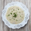 Porcini Mushroom risotto — Stock Photo