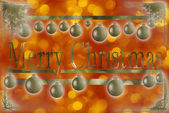 Christmas gretting card — Stock Photo
