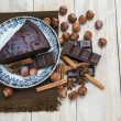 chocolate cacke — Stock Photo