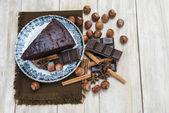 Chocolate cacke — Stock Photo