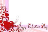 Grußkarte zum valentinstag — Stockfoto