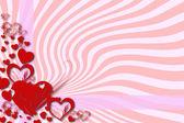 Greeting card for Valentine's Day — Fotografia Stock