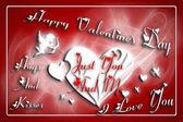 Přání na Valentýna — Stock fotografie