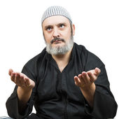 Muslim man praying. — Stock Photo