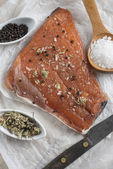 Smoked salmon — Stock fotografie