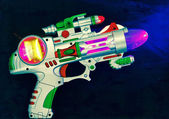 Retro ray gun — Stock Photo